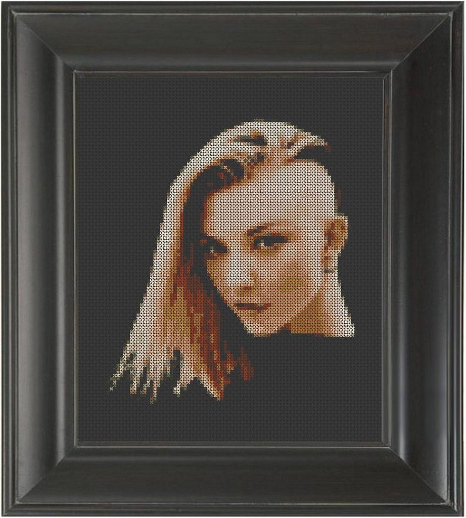 Natalie Dormer - Cross Stitch Pattern Chart