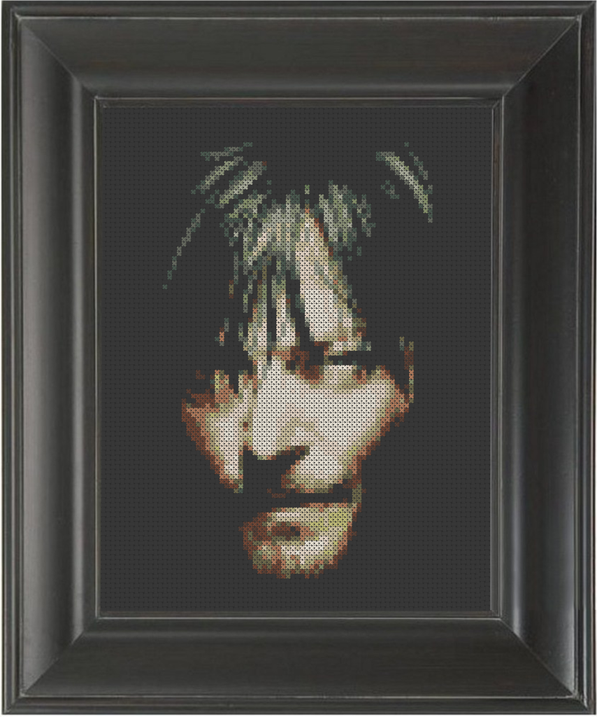 Norman Reedus Color - Cross Stitch Pattern Chart