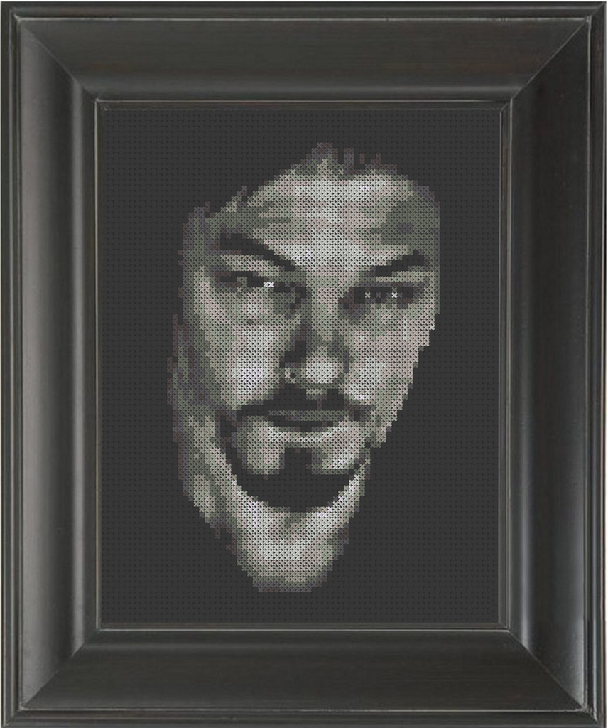 Norman Reedus Dark - Cross Stitch Pattern Chart