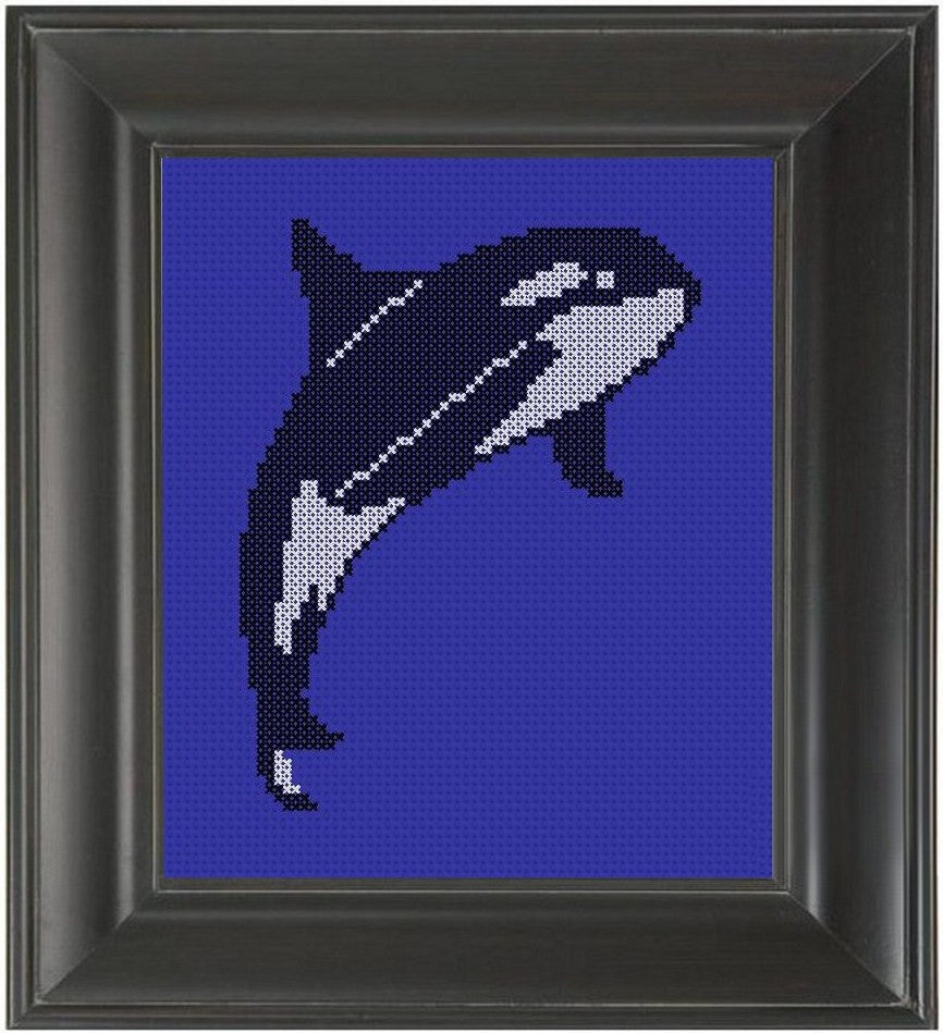 Orca - Cross Stitch Pattern Chart