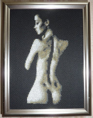 Back Atcha - Cross Stitch Pattern Chart Erotic Nude Sexy NSFW