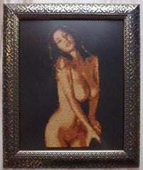 The Banister - Cross Stitch Pattern Chart Erotic Nude Sexy NSFW