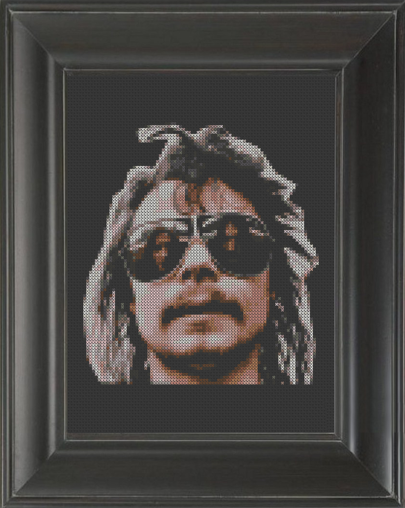 Philthy Animal Taylor - Cross Stitch Pattern Chart