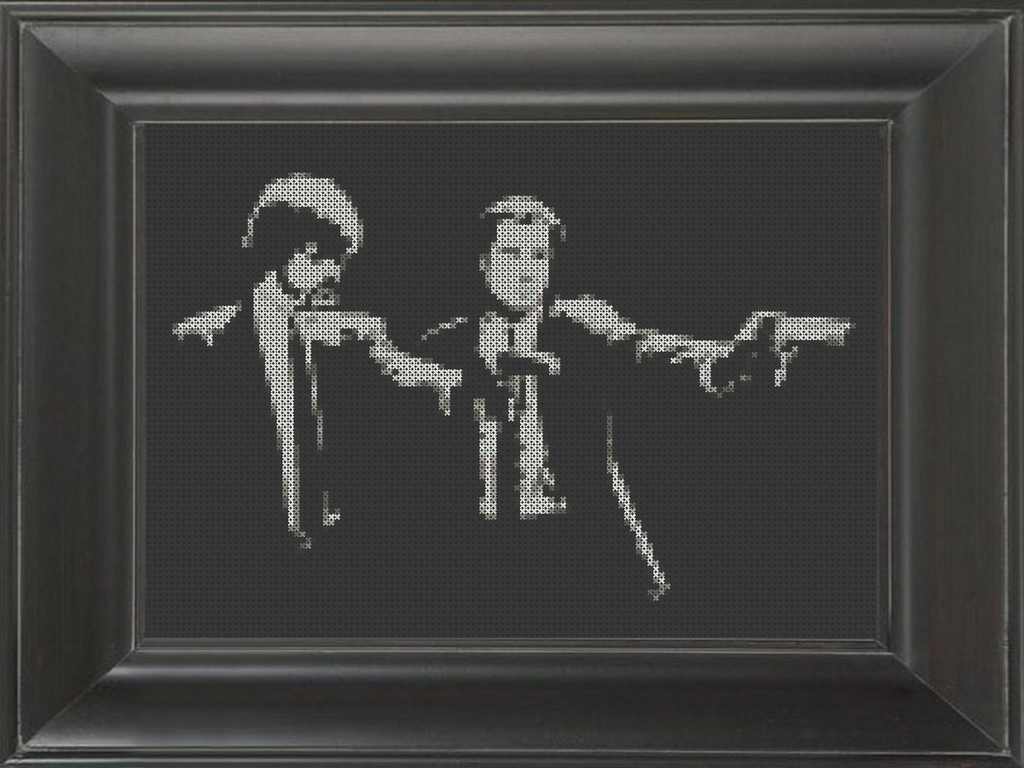 Pulp Fiction 02 - Cross Stitch Pattern Chart
