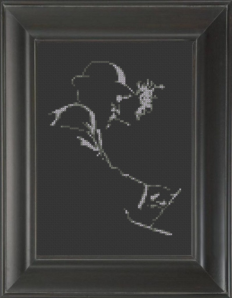 Piano Jazz - Cross Stitch Pattern Chart