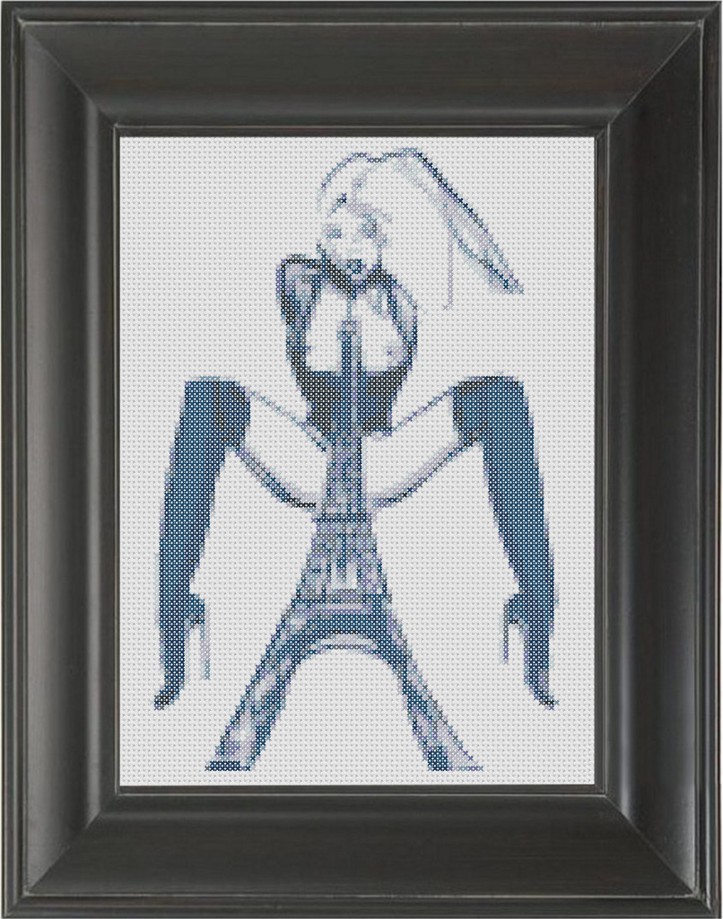 Paris - Cross Stitch Pattern Chart