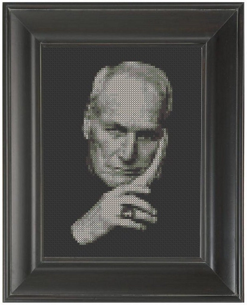 Paul Newman - Cross Stitch Pattern Chart