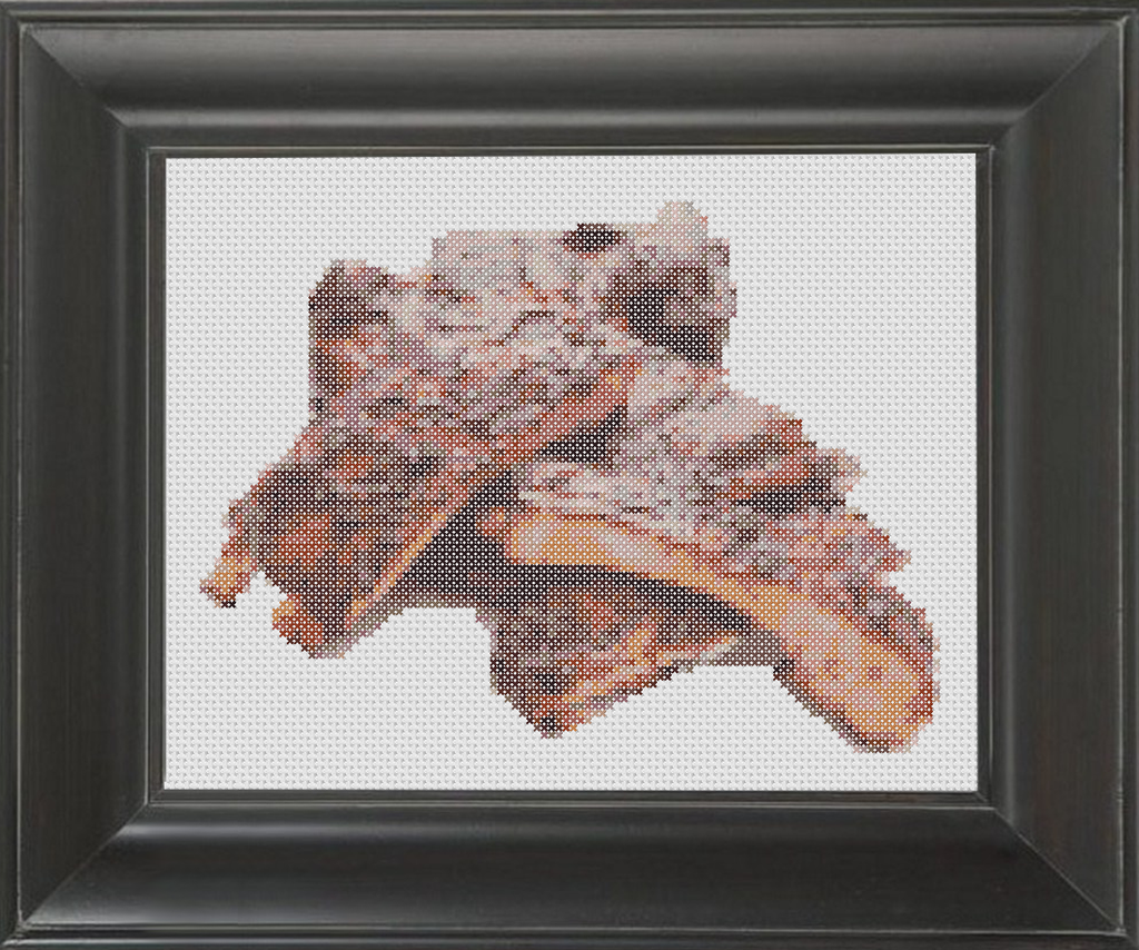 Ribs - Cross Stitch Pattern Chart