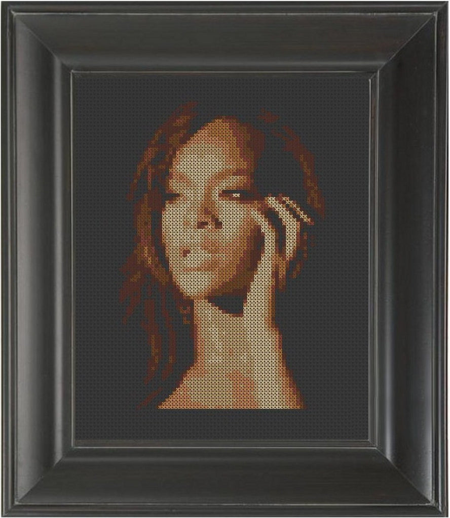 Rihanna - Cross Stitch Pattern Chart
