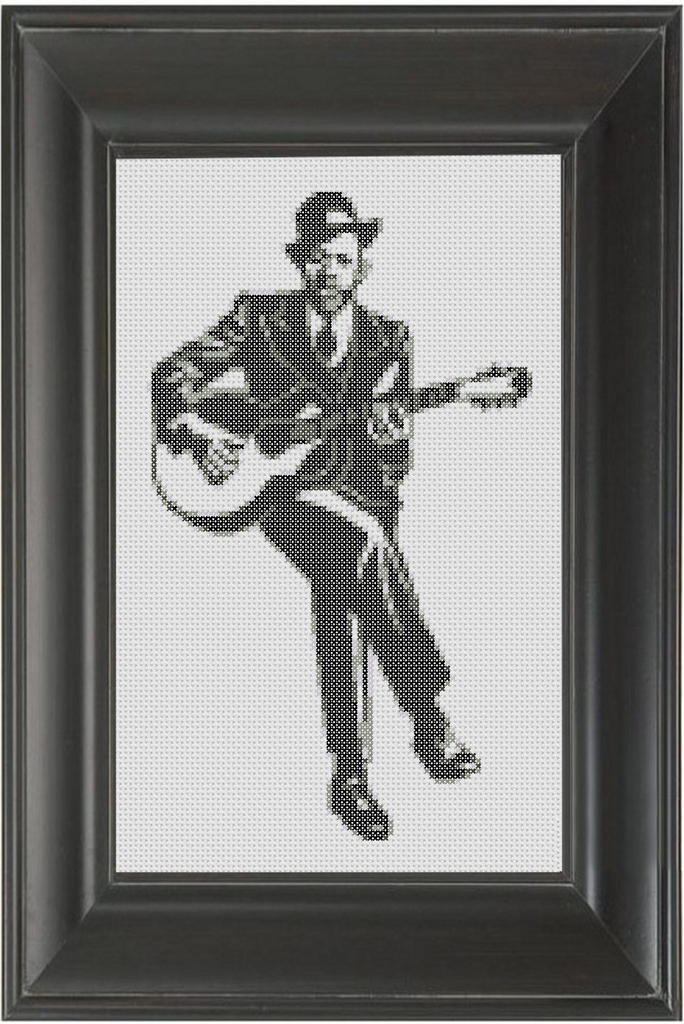 Robert Johnson - Cross Stitch Pattern Chart