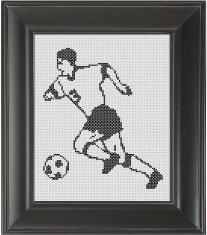 Soccer Boy - Cross Stitch Pattern Chart