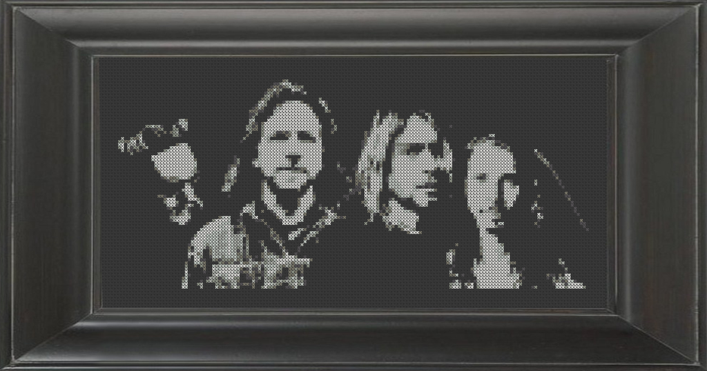 Seattle Grunge - Cross Stitch Pattern Chart