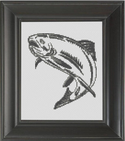Salmon - Cross Stitch Pattern Chart