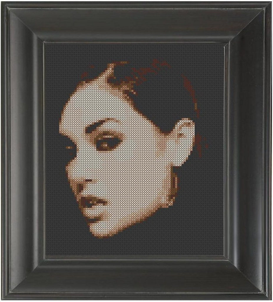 Sasha Grey - Cross Stitch Pattern Chart Erotic Nude Sexy NSFW