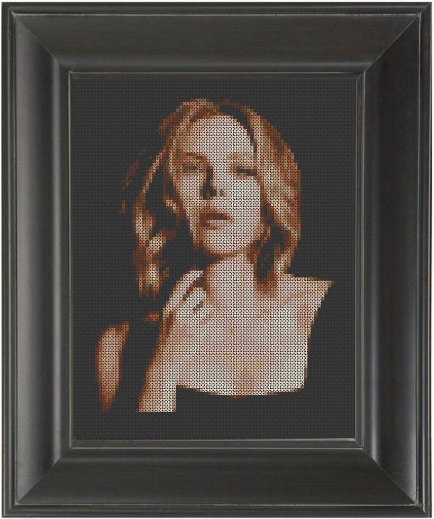 Scarlett Johansson - Cross Stitch Pattern Chart