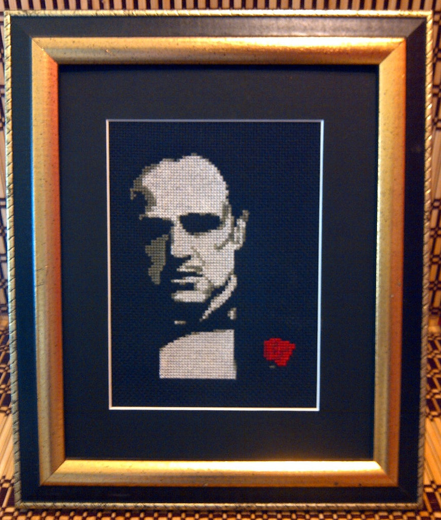 Marlon Brando - Cross Stitch Pattern Chart