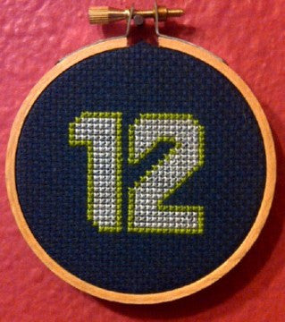 Twelve Threezle - Cross Stitch Pattern Chart