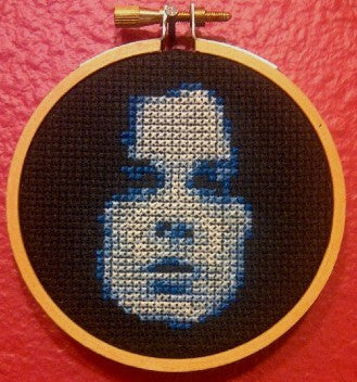Jack White Threezle - Cross Stitch Pattern Chart
