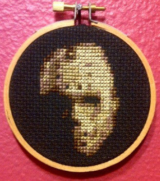 Jason Threezle - Cross Stitch Pattern Chart