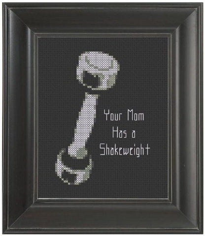 Shakeweight - Cross Stitch Pattern Chart