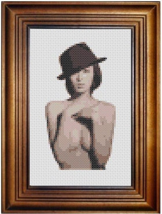 Shou Shou - Cross Stitch Pattern Chart Erotic Nude Sexy NSFW
