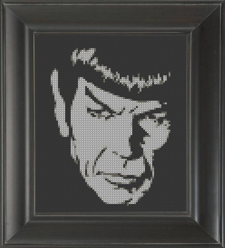 Spock - Cross Stitch Pattern Chart