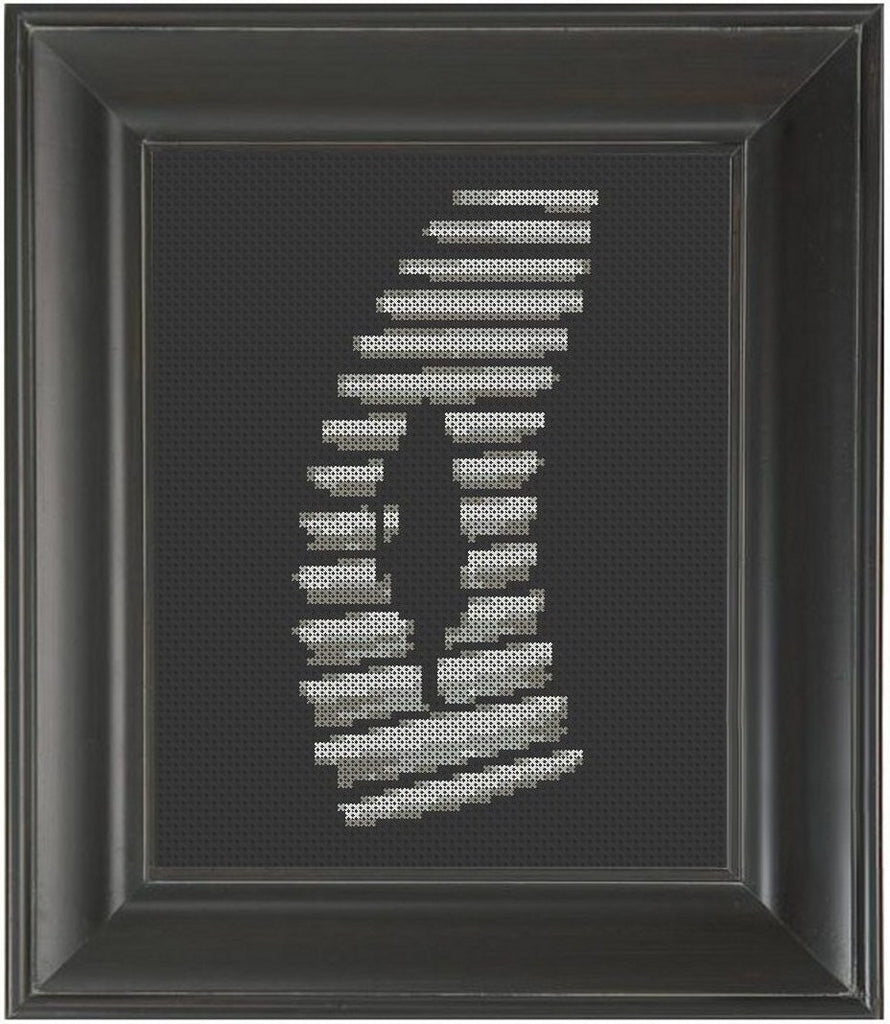 Stairs - Cross Stitch Pattern Chart