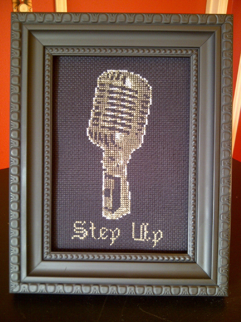 Step Up - Cross Stitch Pattern Chart