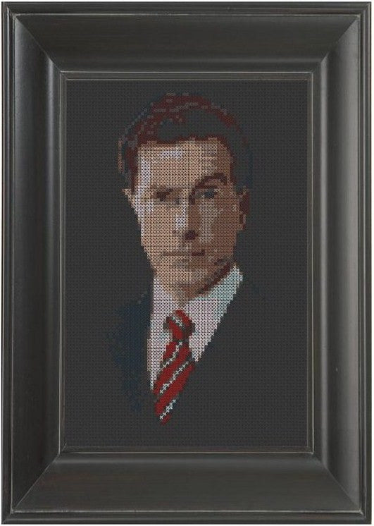 Stephen Colbert - Cross Stitch Pattern Chart