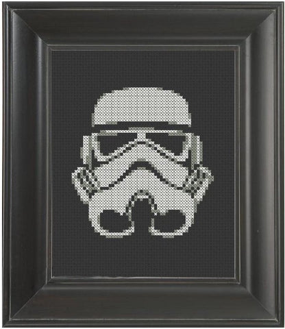 Stormtrooper - Cross Stitch Pattern Chart