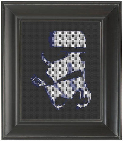 Stormtrooper NEW - Cross Stitch Pattern Chart