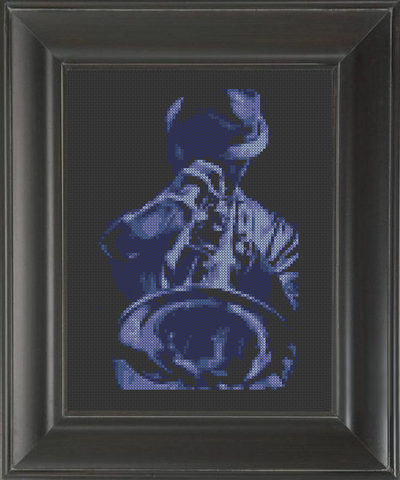 Trumpet Blues - Cross Stitch Pattern Chart