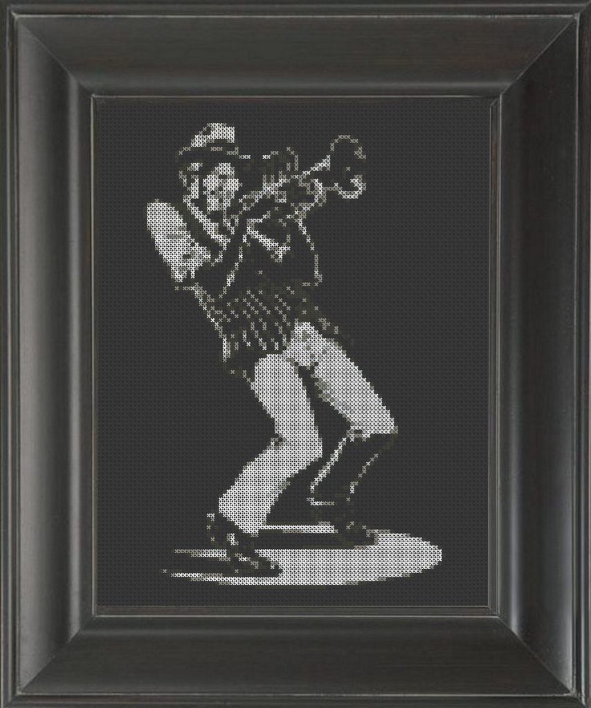 Trumpet Solo - Cross Stitch Pattern Chart