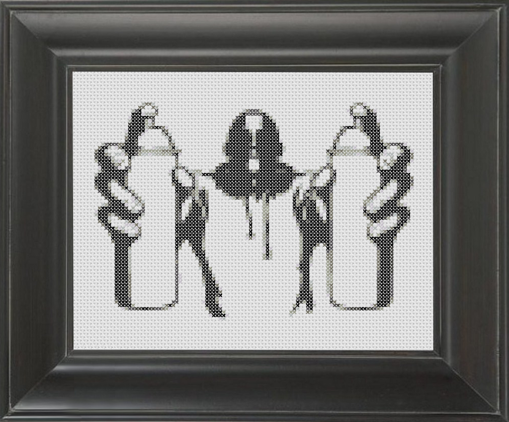 Tagger BW - Cross Stitch Pattern Chart