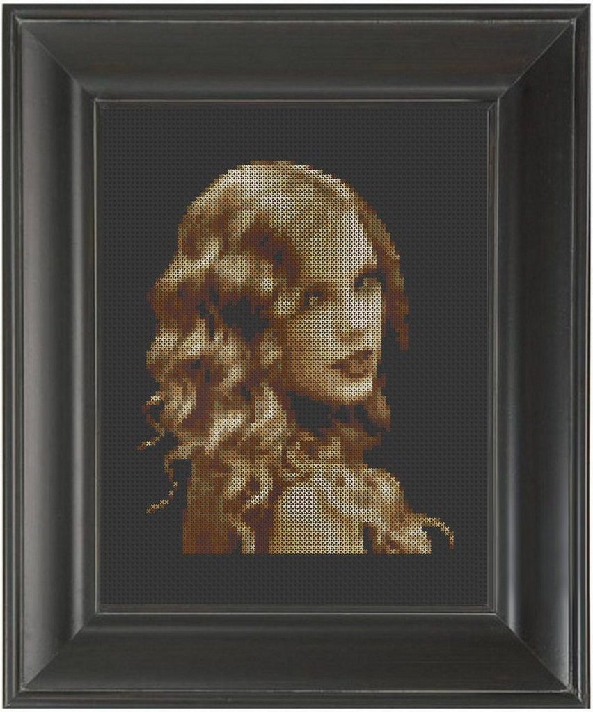 Taylor Swift - Cross Stitch Pattern Chart