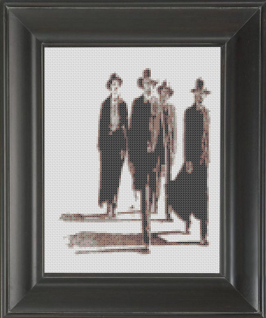 Tombstone - Cross Stitch Pattern Chart