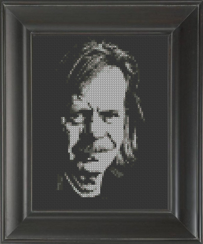 William H. Macy - Cross Stitch Pattern Chart