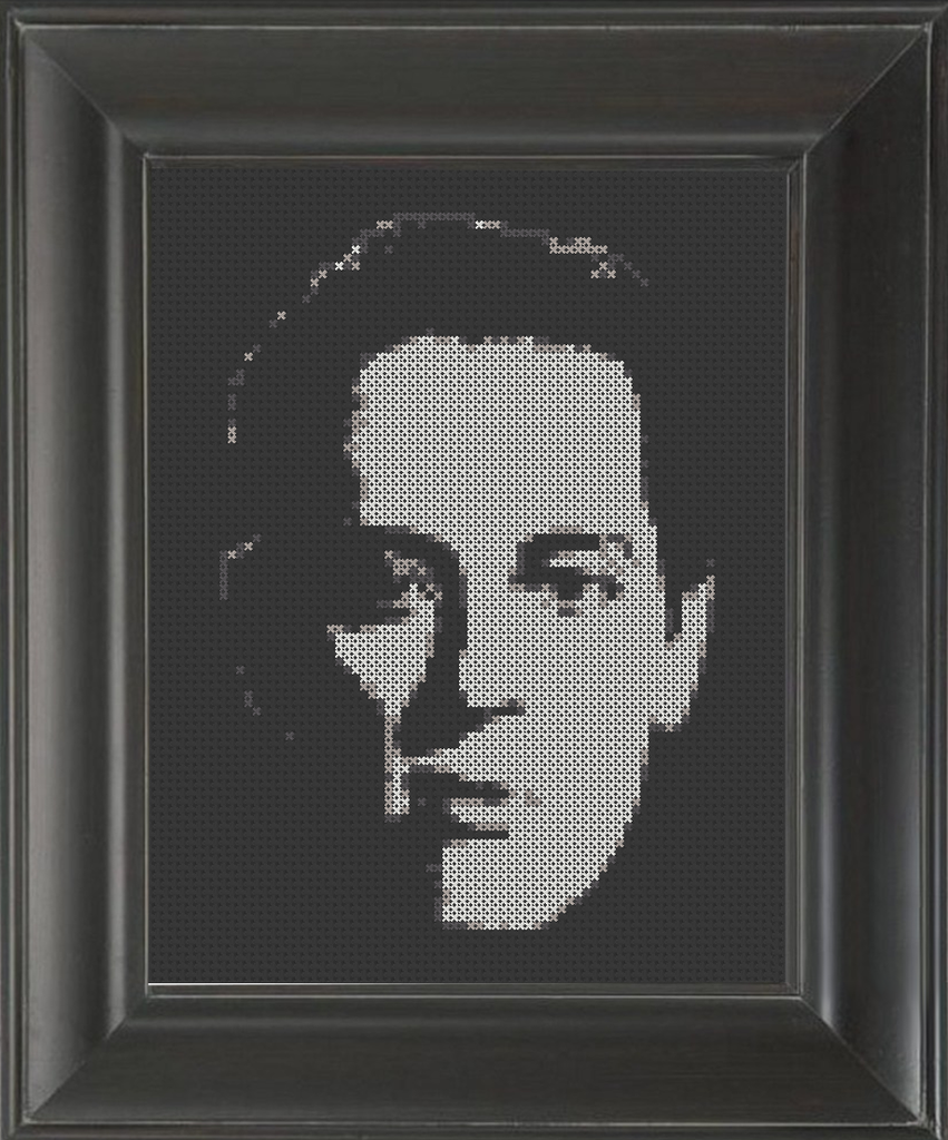 Withnail and I - Cross Stitch Pattern Chart