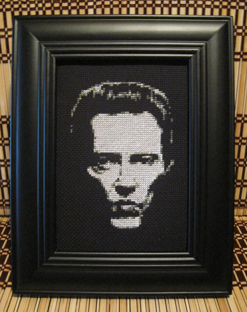 Christopher Walken - Cross Stitch Pattern Chart
