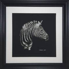 Zebra - Cross Stitch Pattern Chart