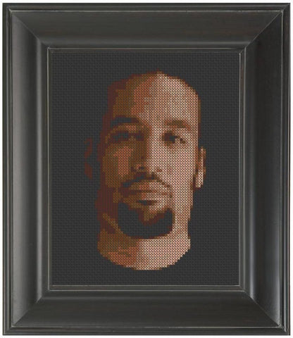 Ben Harper - Cross Stitch Pattern Chart