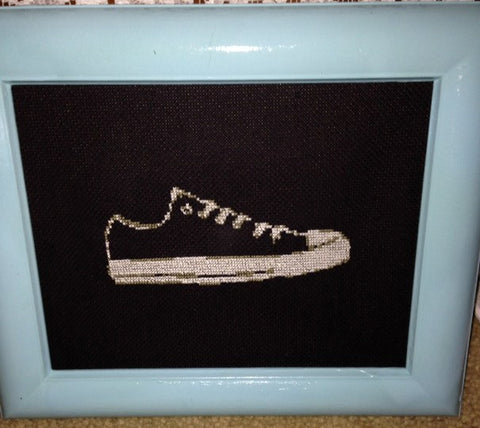 Chuck Taylor - Cross Stitch Pattern Chart