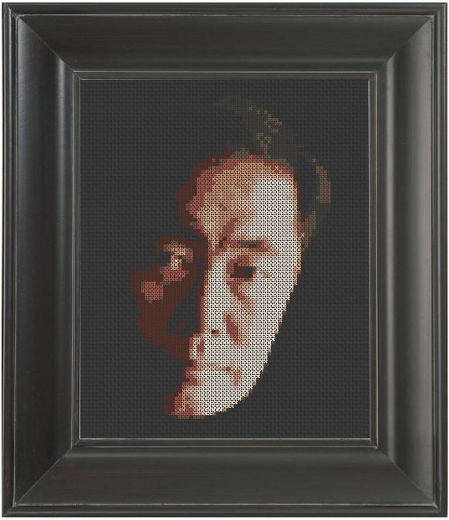George Takei - Cross Stitch Pattern Chart