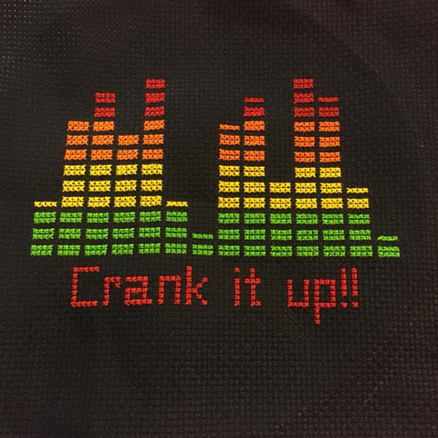 Crank It Up - Cross Stitch Pattern Chart