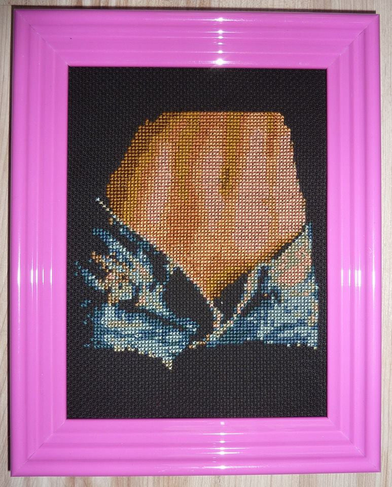 Jean Shorts - Cross Stitch Pattern Chart