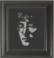 John Lennon - Cross Stitch Pattern Chart