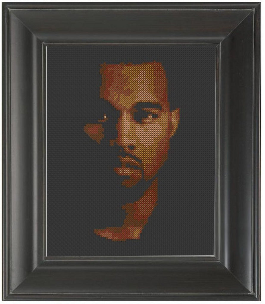 Kanye West - Cross Stitch Pattern Chart