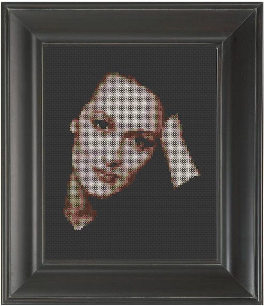 Meryl Streep - Cross Stitch Pattern Chart