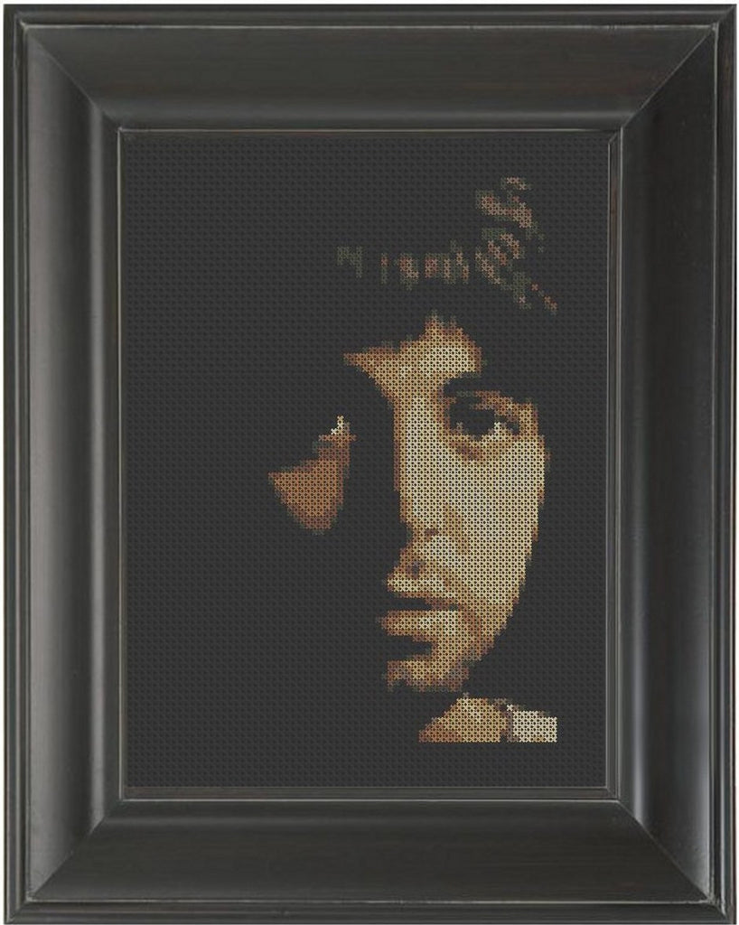 Paul McCartney - Cross Stitch Pattern Chart