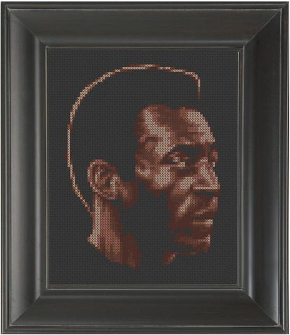 Pele - Cross Stitch Pattern Chart